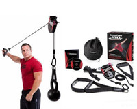 Wholesale 2015 CrossCore Fitness Resistance Bands CrossCore180 strength Training Pull Rope DHL
