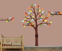 bedroom shelf - Nursery Tree Shelf Tree Decals Boys Room Wall Stickers Tree Wall Art Huge Tree White Branch Wall Sticker For Kids Room