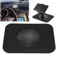 Wholesale Excellent Quality Car Accessories Silica Gel Non Slip Gadget Car GPS Mat GPS Holder Black Color