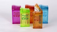 Wholesale 2016 New ML Juice bottle Straw Type cup with lid for kids drinking Fruit Milk Leak proof kettle water cup christmas gifts for kids