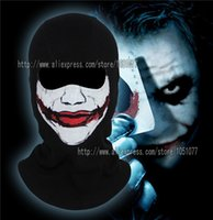 bicycle joker - cotton Rib fabrics mask joker Batman The Dark Knigh Winter Ski Full Face Mask Balaclava mask Bicycle outdoor joker face