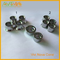 batteries connections - HOT E Cigarette Vivi Nova Cone Beauty EGO Adapter Ring For Atomizer Ego Thread Atomizer Twist battery Vision Spinner Holder Connection