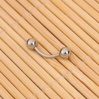 Wholesale Clearance Charming Stainless Steel Bent Eyebrow Ring Body Jewelry Brand New Ship from USA