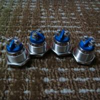 al por mayor tuerca de interruptor-Special ecig parts Interruptor único para la caja mod 16mm A-1 automático de la tuerca de reserva botón de metal interruptor impermeable 510 caja de rosca mod modificador de metal