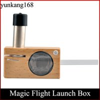 vamo kit - Flight Launch Box Kits vaporizer dry herb vapor Gift box package Wooden storage Container vs VAMO V9 pinnacle pro Trippy Stix DHL