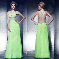 Cheap 2015 Gorgeous Peplum Evening Dresses China V Neck Formal Evening Gowns Chiffon Prom Dresses Evening Wear Custom Made