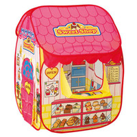 Wholesale Sweet candy house Portable game house children s tent The princess ocean ball pool Baby toys foldable baby children s toy tent