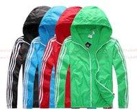 Wholesale Brand New Men s blazer Windbreaker Jackets Sunscreen Male coat Thin section movementind insects Nylon Fabric