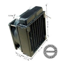 Wholesale 80mm Radiator computer CPU cooling water cooler radiator fan cooling system devices A2