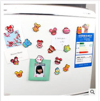 Wholesale Cute Animal Fridge Magnet Cartoon Cute PVC Magnet Home Décoration styles Refrigerator Magnets Dhgate educational toy R1424