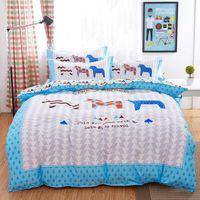 bamboo sheets king - 2015 winner bamboo cotton bedding set Autumn duvet cover set Queen king size bed set bed linen sheet bedclothes funda nordica