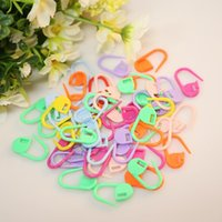 Wholesale Plastic Markers Holder Needle Clip Craft Mix Mini Knitting Crochet Locking Stitch ZH158 order lt no tracking