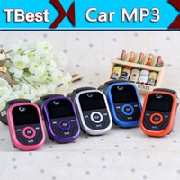 Wholesale 50pcs Universal Car MP3 Player FM Transmitter Modulator Support TF Card USB Disk V Enjoy Speaker Music in Car DHL