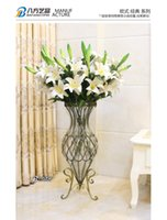 Wholesale Flower arranging a hydroponic plant lucky bamboo floor glass vase housewarming wedding gift