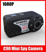 Wholesale Mini Spy Camera MP Smallest DV Real P IR Night Vision Camcorder C90 Retail box