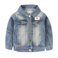 baby boy denim jacket - New Arrival Cowboy Suit Blazer Hot Sale Baby Boys Jacket Nice Gift Children Jackets Years