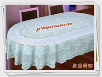 oval tablecloth - White oval shape table cloth tablecloth pvc print table cloth dining table cloth waterproof oil