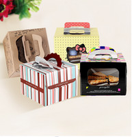 Wholesale Cake boxes Baking Packaging Birthday cake boxes West Point Portable snacks Package Send end of care