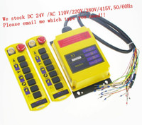 Wholesale 2 Speed Control Hoist Crane Remote Control System Transmitters Receiver order lt no track