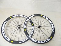 Wholesale MAVIC COSM carbon wheels mm clincher road bike wheelset carbon bicycle wheels k include hubs spoke also sale sky team frames