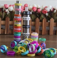 silicone finger cover - New Design Silicone Ring anti slip silicon finger vape band beauty covering rubber ring for mechanical mod e cig accessories Cheap Rings