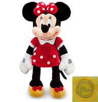 minnie mouse plush - Original Minnie Mouse toy red Minnie plush toy cm stuffed animals Mickey Mouse girl friend Minnie toys for children