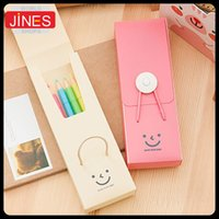 big pp storage box - Creative home small cute pencil case pp Schools amp Offices Card amp ID Holders big capacity Stationery storage box