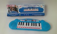 Wholesale Musical instruments toy for kids Frozen girl Cartoon electronic organ toy keyboard electronic baby piano with music song TF3