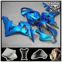 aftermarket motorcycle lights - all Light blue CBR600RR INJ Fairings INJECTION MOLD Aftermarket Motorcycle Kit Fairing For honda CBR RR