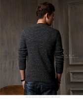 asia south korea - Winter Fashion Male Star Model In Asia And South Korea Knitted Cotton Long Sleeved Cardigan Jacket Men