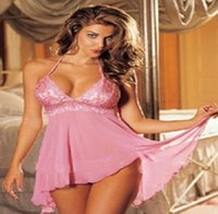 Cheap Gauze perspective sexy underwear sexy sundresses spandex lace nighty XL LaTeX