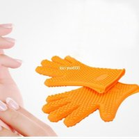 silicone cooking - 1PCS Kitchen Tool Heat Resistant Glove Oven Pot Holder BBQ Baking Cooking Mitts
