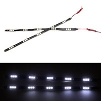 Wholesale 2Pcs LED SMD Vehicle Auto Light Led White Light led Decoration Light Strip V for Car White