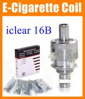b e heading - Replacement core dual coil head Clearomizer rebuildable Innokin Heating Core for iClear B iClear B E Cigarette Atomizer COILS FJ052