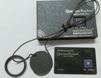 Wholesale scalar energy pendant quantum science pendant with box and card