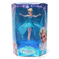 Wholesale Flying Induction Frozen Toys Frozen Princess doll Theme Music Elsa Anna Dolls Party Toys Brinquedos Kids Dolls for Girls