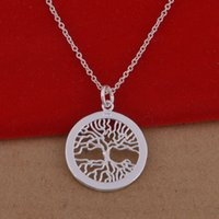 animal pop - Trade jewelry sterling silver necklaces Korean pop Wishing Tree necklace large spot