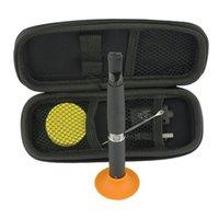 nail starter kit - Dual coil vaporizer pen Wax burning device titanium nail e cigarette ego vape pen wax vaporizer ego skillet starter kit