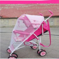 Wholesale Durable Mosquito Stroller Pushchair Infants Baby Mesh Bee Insect Bug Cover x115cm Net mesh camisole mesh
