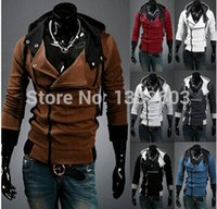 Wholesale have XL classic hot young men love fashion style jacket lapel jacket free transport coat men s hoodies new Fashion clothes