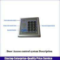 magnetic door lock - 1set lb KG Doube Door Magnetic lock Fingerprint Door acess control system RFID Card Password keypad controller keyfobs