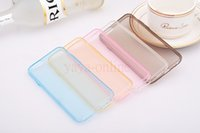 able cases - 0 mm ultra thin clear phone cases TPU invisible protective shell for iphone plus colors able mix order