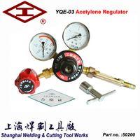 acetylene gas cylinders - shanghai welding cutting tool YQE Acetylene pressure reducer gas cylinder pressure reducing valve acetylene gas regulator
