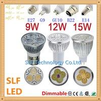 24v e27 led - 10pcs Dimmable Led Lamp W W W MR16 GU10 E27 B22 E14 V V V Led spot Light Spotlight led bulb Super Bright