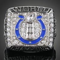Wholesale High end custom made Fans collecting ring Indianapoliscolts in Championship ring