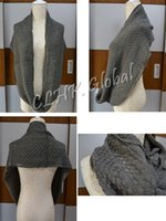 Wholesale Fashion Winter Warm Women Knit Scarf Infinity Circle Soft Scarves Shawl Neck Wrap