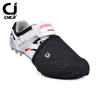 Wholesale Brand New Men s Women s Thermal Warm Windproof Waterproof Winter Cycling Shoe Covers MTB Road Bike Bicycle Sport Shoes Cover Footwears Black
