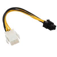 mini ide - 6 pin Mini PCIe Power Male to pin PCI e Power Female PCIe Power Cable