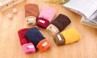 Wholesale New Women Half Finger Gloves Winter Warm Mitten Mitt Cute Knit Gloves