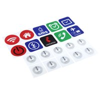 Wholesale 10pcs Smart NFC Tags Labels Stickers for Samsung Galaxy S5 S4 Note Nokia Lumia Sony Xperia Nexus